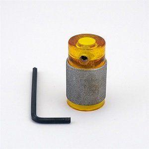 GelBit  geel slijpkop 19mm fijn