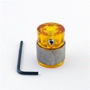 GelBit geel slijpkop 25mm fijn