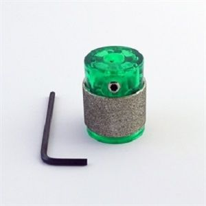 Gelbit groen  slijpkop 25mm standaard