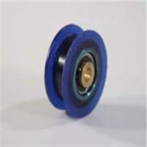 Blue Pulley with bearing