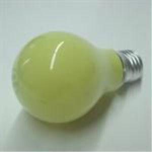 Powder Printing yellow light bulb E27