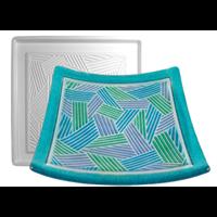 "Casting mold ""Modern Weave Pattern Fuser"""