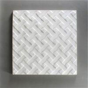 Mold: texture plate weave  24x24cm