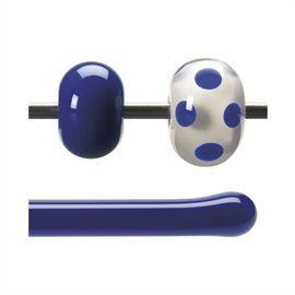 Glass rod 0147 F cobalt blue
