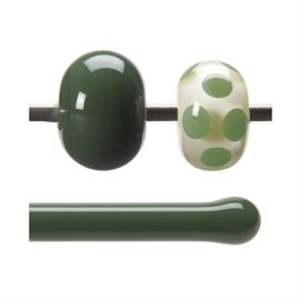 Glass rod 0141 F dark green