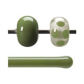Glass rod 0212 F olive green