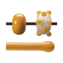 Glass rod 0321 F pumpkin orange