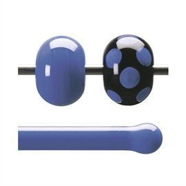 Glass rod 0014 F cobalt blue