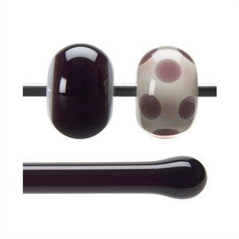 Glass rod 1105 F deep plum