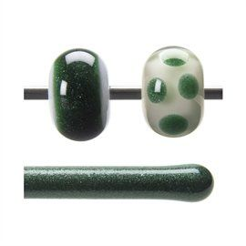 Glass rod 1112 F dark green
