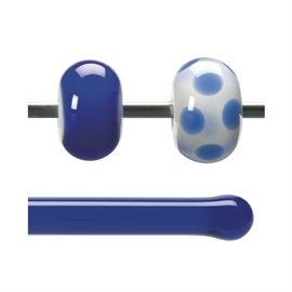 Glass rod 1114 F cobalt blue