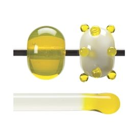 Glass rod 1120 F yellow