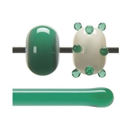 Glass rod 1417 F green