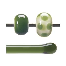 Glass rod 1141 F olive green