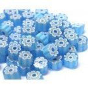 turqoise blue 25 gram millefiori coe 104