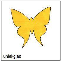 prachtige vlinder (25 cm)